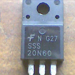 F SSS 20N60